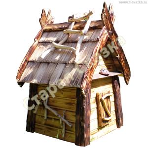 Домик «Дрёма» деревянный