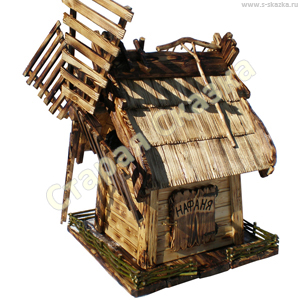 Деревянная мельница «Нафаня»