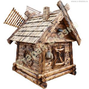 Декоративная мельница «Для гнома»