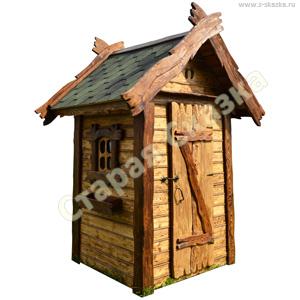 Деревянный туалетный домик «Садовник»