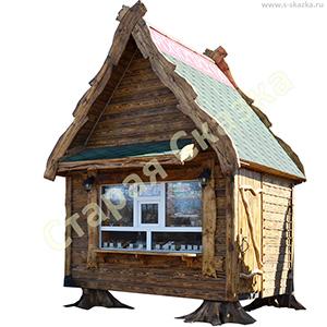 Деревянные домики - ларек «Избушка»