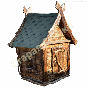Деревянный детский домик для сада