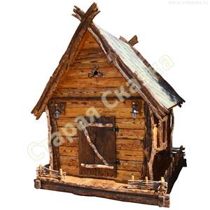 Детский деревянный домик «Избушка»