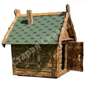 Детский деревянный домик для сада
